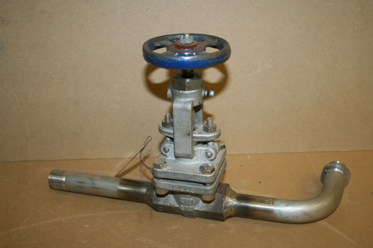 Powell valve, Forged SS, Globe Valve, T pattern, 1/2
