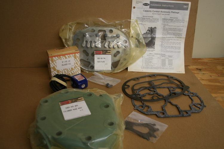 Capacity Control Accessory Package Carrier Electric O6EA 900 332