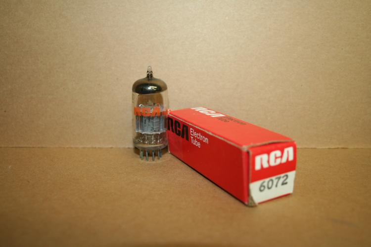RCA 6072 Vacuum Tubes, 12AY7