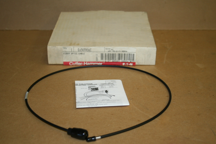 Fiber optic scanner cable E65KFR06C Eaton Cutler Hammer Unused