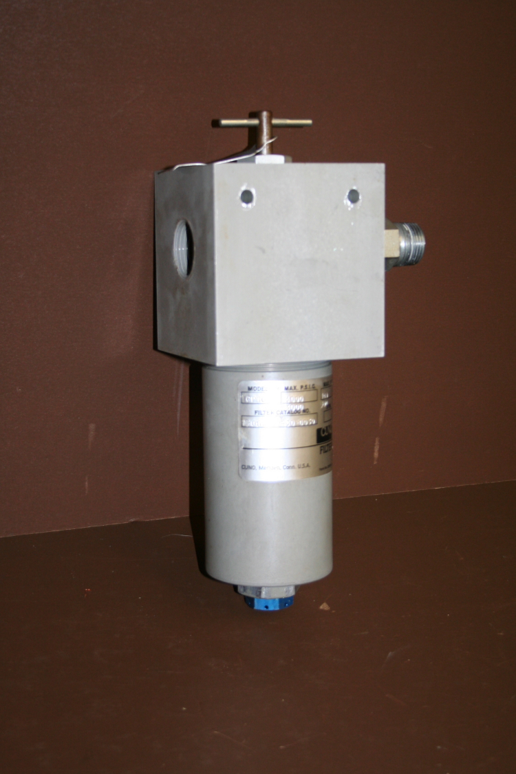 Filter housing assembly 4000 psi GP101 with filter Micro Klean Cuno