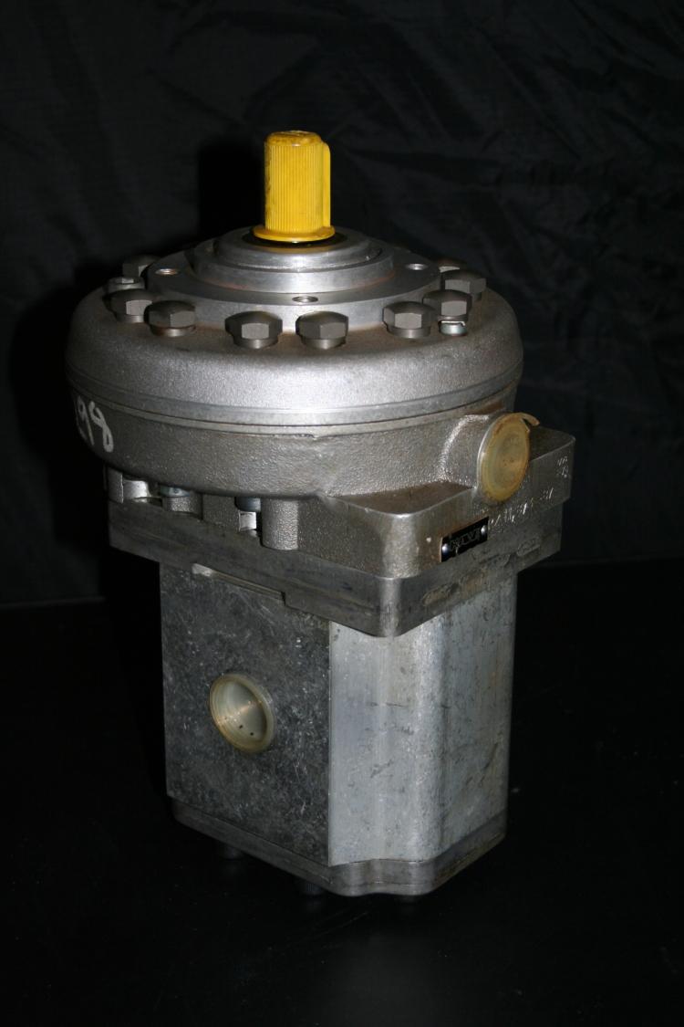 Hydraulic dual stage pump Hawe RZ11.8/3-87 6911 Unused