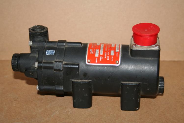 Hydraulic pump Aircraft  200V 3ph 400Hz 150psi Sealless Unused