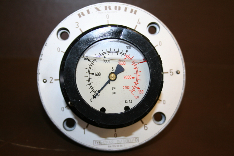 Pressure gauge selector Multi-circuit gauge isolator Hydraulic MS2A2.0/100/0 Rex