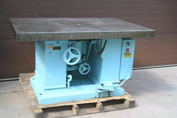 Shaper, tilting spindle, Large table, Orton 40 x 60