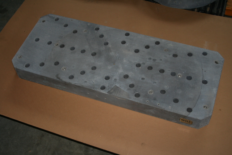 adapter plate 13.5 x 34