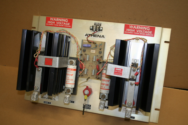 SCR power control, heater, temperature, oven controller, Athena, 100A, 480 V