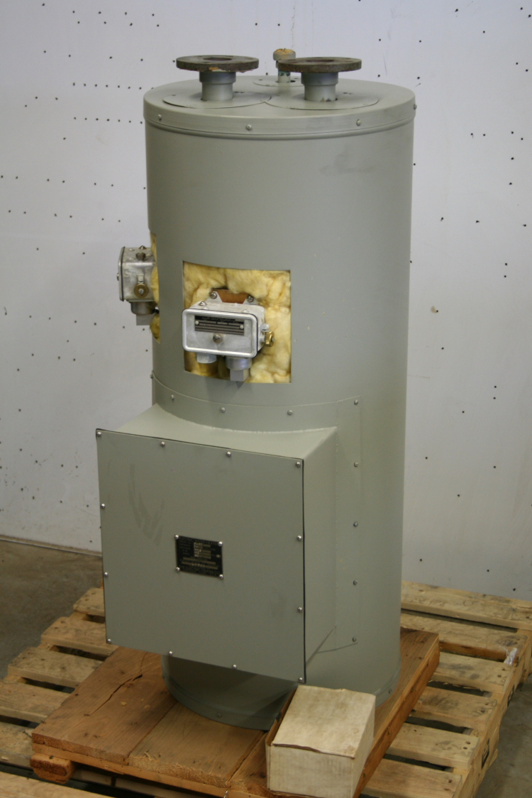 Water Heater, Electric, Marine Grade, 60 kW, 25gal, 440V, 400GPH