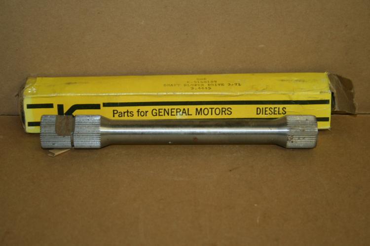 Blower shaft 5168129 Detroit Diesel unused