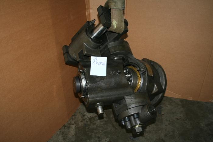 Marine hydraulic axial piston pump, luffing, crane, Nikko Thomaflex PTV-330