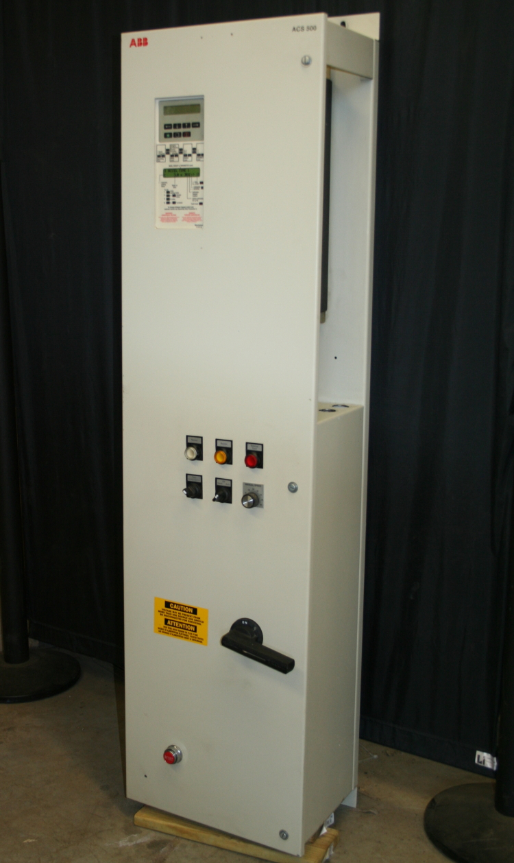 VFD 15hp ABB Variable Frequency Drive w/ Option pack VFD Bypass, ACS500