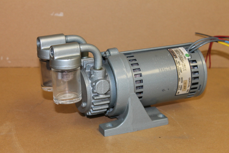 Vacuum pump, Oil-less, 20inhg to 10psi, 115V, 1031-102A-351X Gast Tested