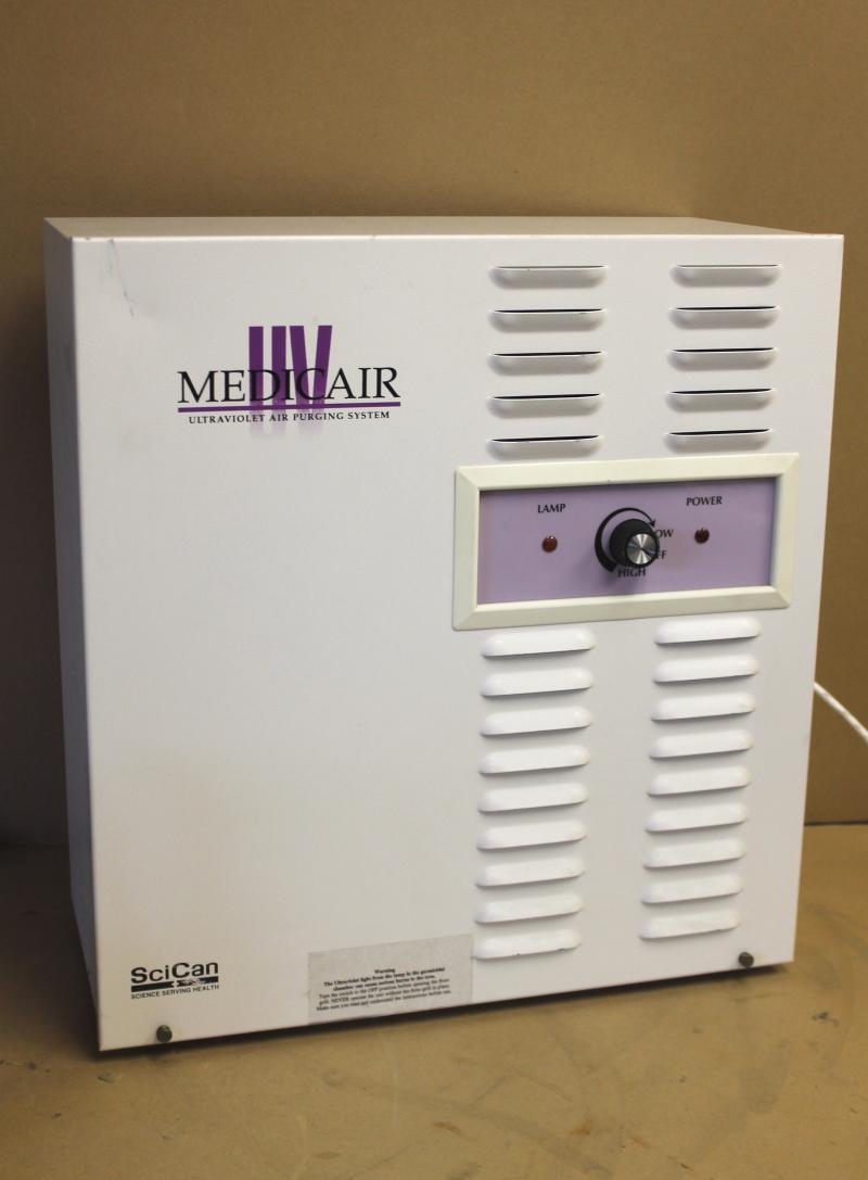 Ultraviolet air purifier, UV system Medicair UVAP 200 Allseason Environmental