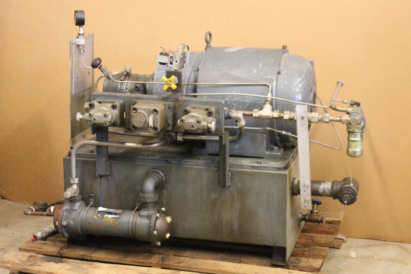 Hydraulic power supply, Power unit, HPU, 20hp, 3000 PSI, 220/440V, Denison