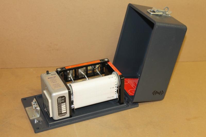 Impact recorder, Accelerometer, M4-15X-15Y-15Z, 15 gram Impact-O-Graph