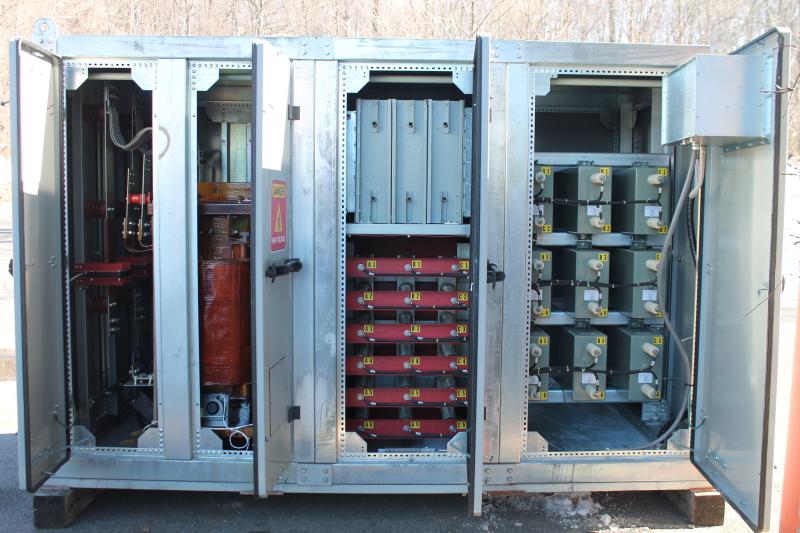 Power factor correction, Capacitor bank, Harmonic Filter 1900 kVAR Electrotek
