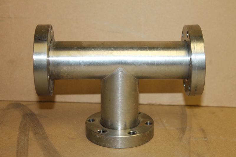 Vacuum Generators LTD. Vacuum 3 Way Conflat T, 2-3/4