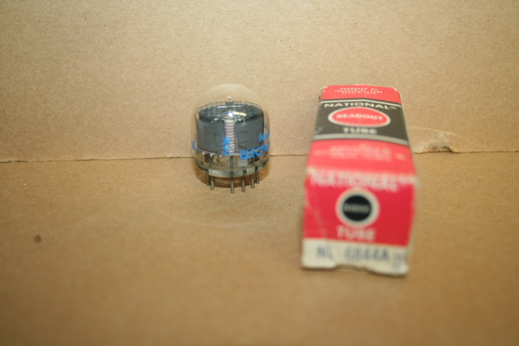 National Electronics NL 6844A Nixie Style Vacuum Tube, Readout