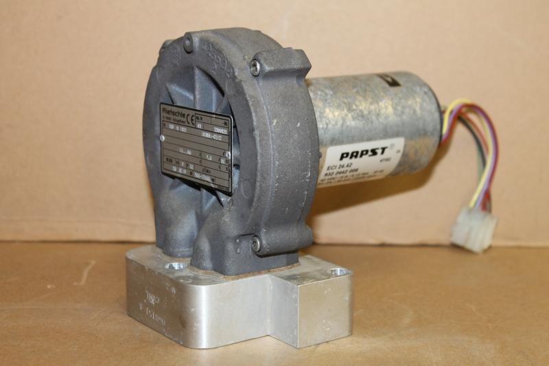 Vacuum pump, Blower, 48VDC, SGP-16-02, Rietschle
