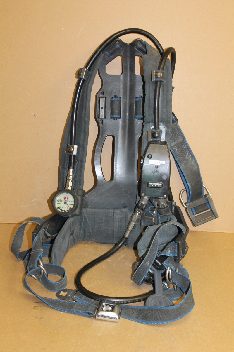 Industrial CBRN SCBA Harness, Backpack 1997 style Survivair Panther