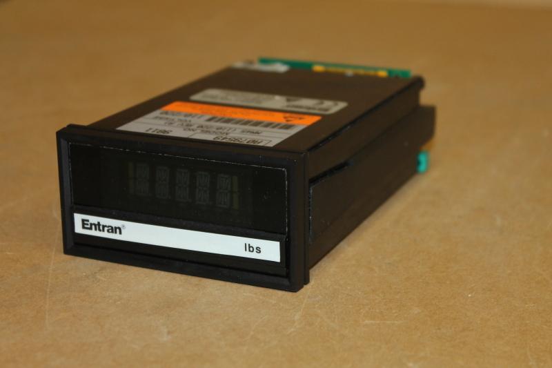 Load source cell readout, Sensor monitor, 4.5 digit panel meter Lbs MM45, Entran