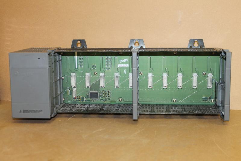 Allen Bradley 1746-P2, 1746-A10, 10 Slot Rack, Backplane, Power Supply, SLC500