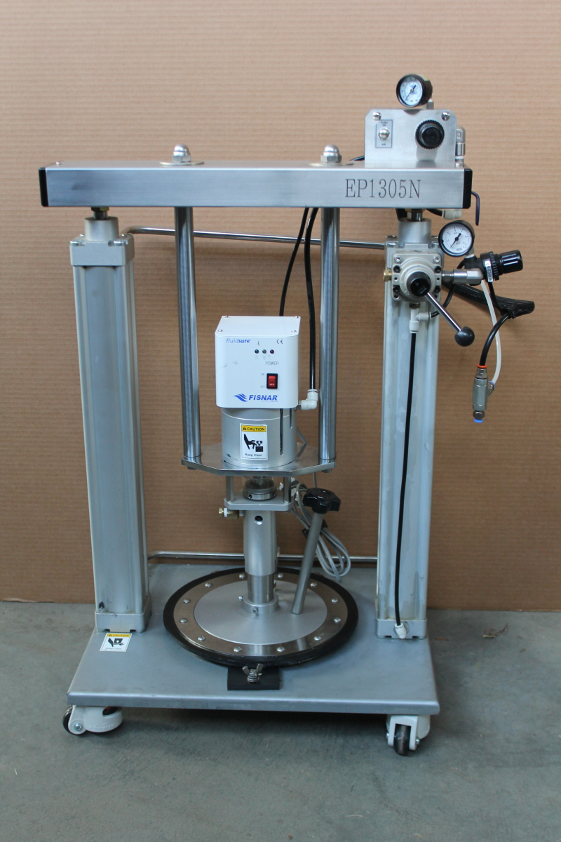Piston Pump, Pneumatic 5 Gal can extruder system 996 PSI, EP1305N, Fisnar