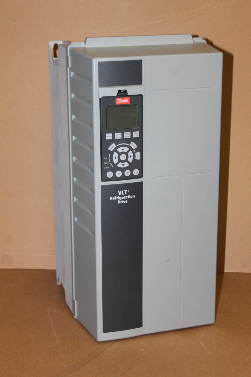 VFD, 15 hp, 21A, 380-480V 3ph, 0-590Hz, VLT FC 103, Danfoss