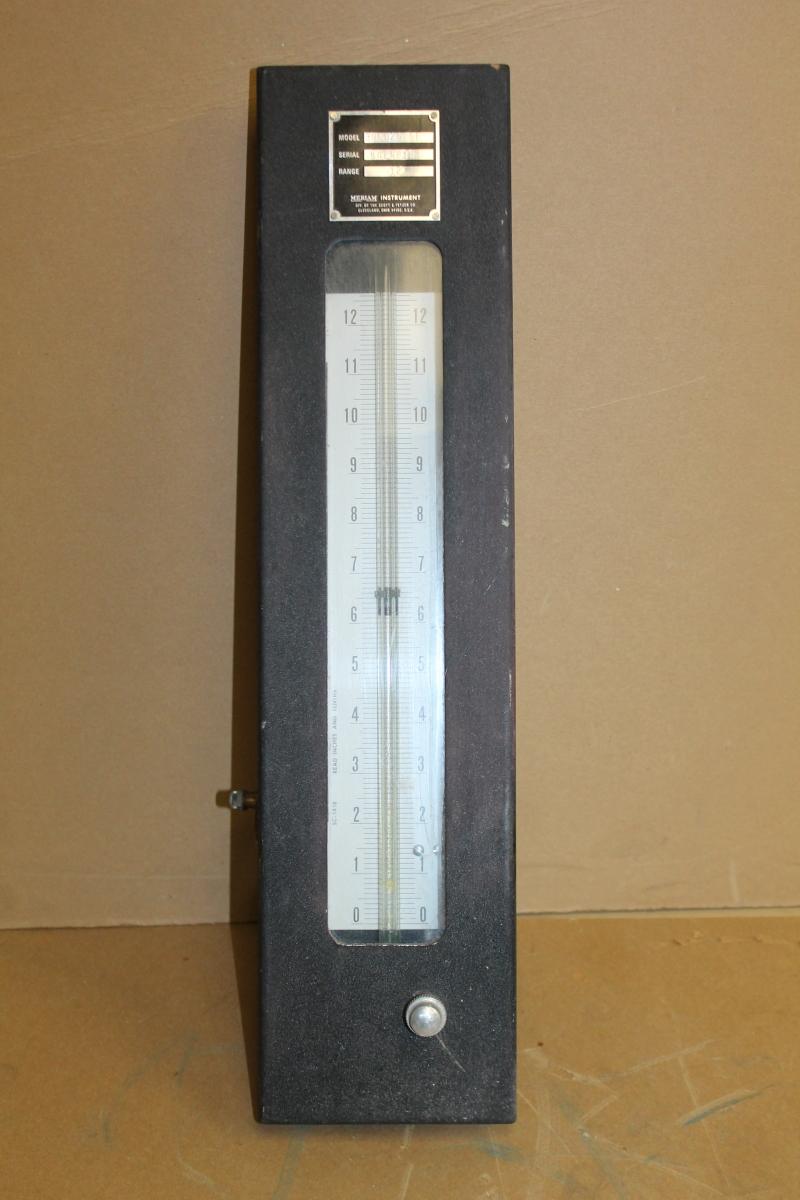 Meriam Instruments 30EB25 FF Manometer, 12
