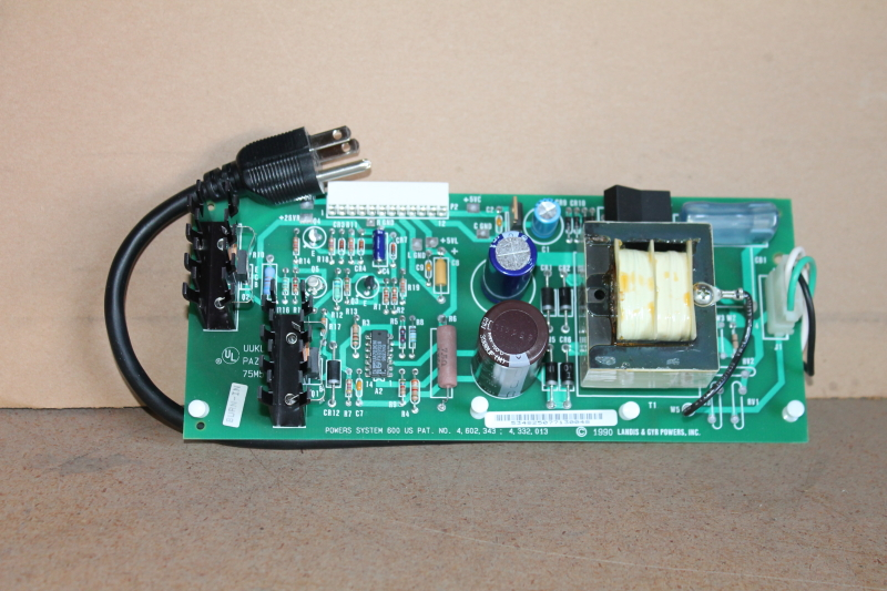 Digital Point Unit, Power Supply Board, 534 825, Landis & Gyr Powers