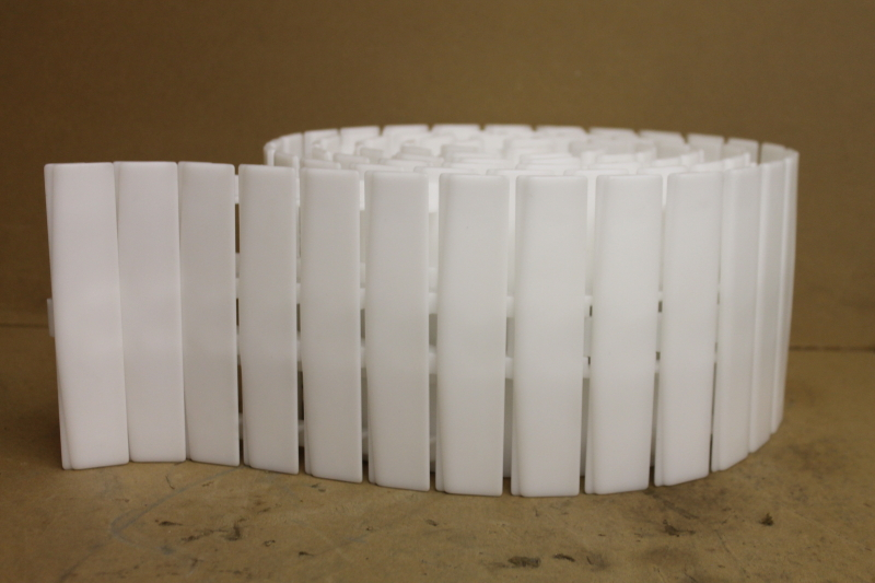 Conveyor belt, Plastic chain Side flexing, 1.5