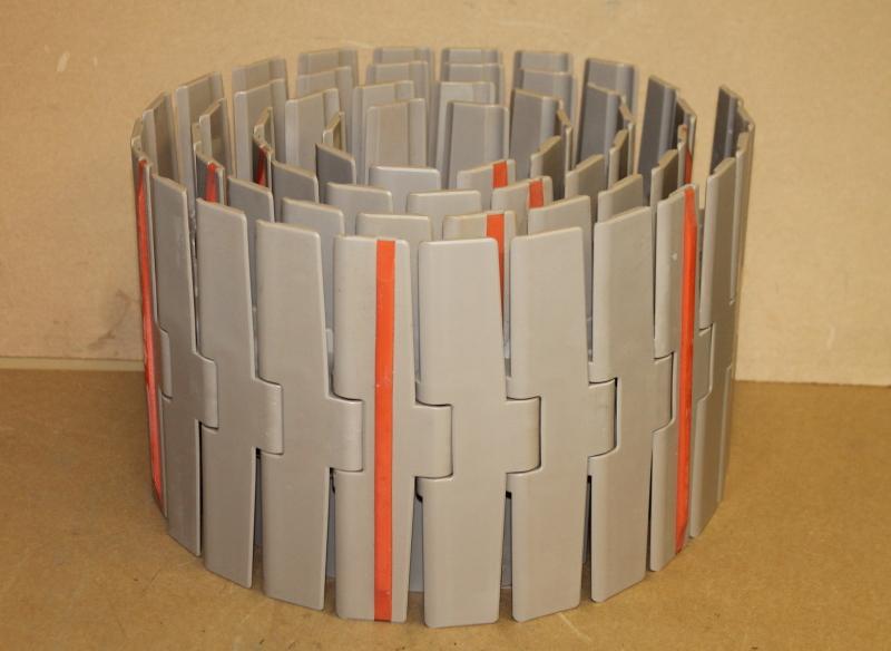Conveyor belt, 7 1/2