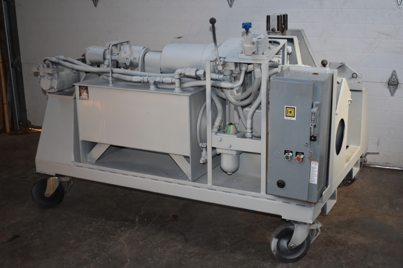 Cable take up and pay off machine, Wire winder, spooler, coiler, Hydraulic B