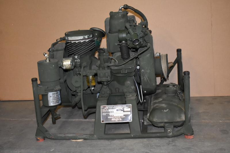 Air Compressor, 2000psi, 3.5CFM, Gas, Stewart, AN-M4C, High Pressure, TESTED