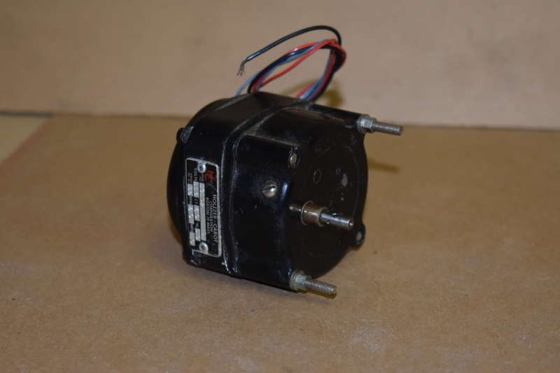 Holtzer Cabot Gearmotor, 60RPM, 7.5 oz in, 115V, 3/16