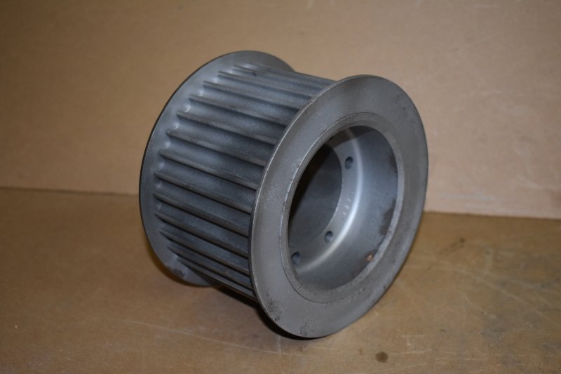 Timing pulley, 14mm pitch, 34 tooth, 85mm wide, QD, P3414M85SK, Uniroyal