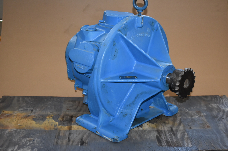Air motor, Radial piston, 30 HP @ 90 PSI 5 cylinder, 281-00009, EIMCO