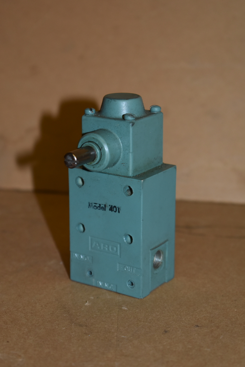 Pneumatic limit valve, Limit switch, 25-125, One way CCW, 401, ARO