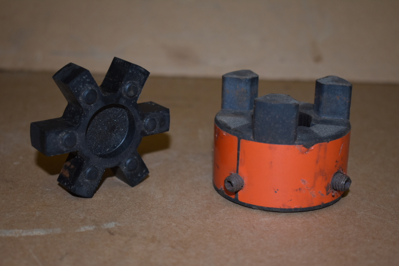 Coupling hub and spider, 1.125