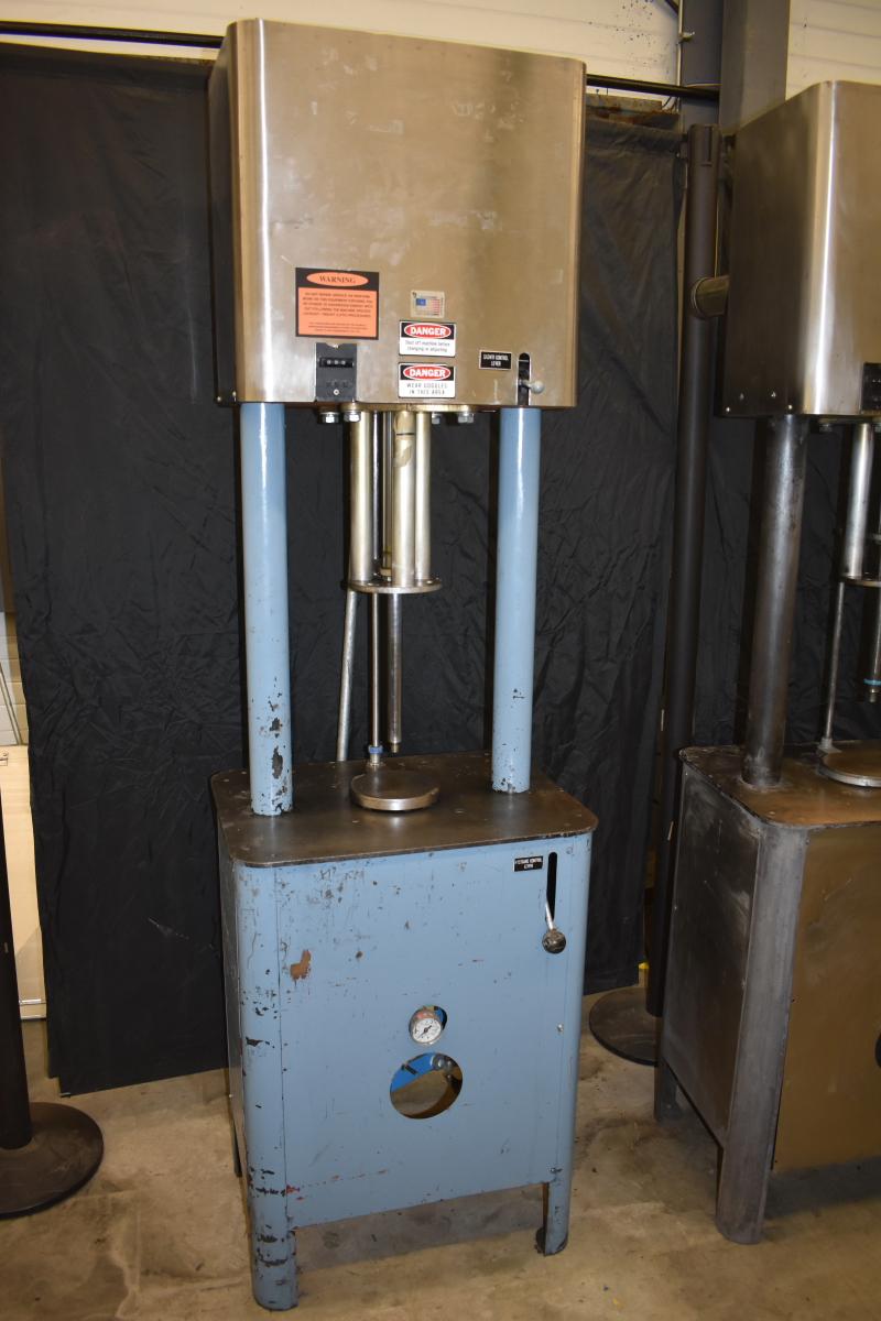 Batch Pressure Mixer, 5 Quart, Pneumatic, 1378, Semco, TESTED