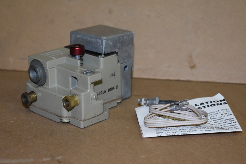 Pilot safety valve, Wall mount, Manual reset, Pilotstat CS591A, Honeywell