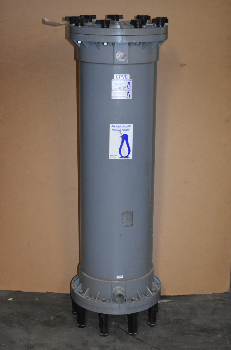 Filter Chamber, Includes DOE Elements, 8640 GPM, 12C-48A, Filter Pump Industries