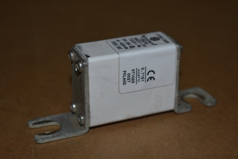 Fuse, Semiconductor, Square body, 160A, 700V, 170M1369, Bussmann