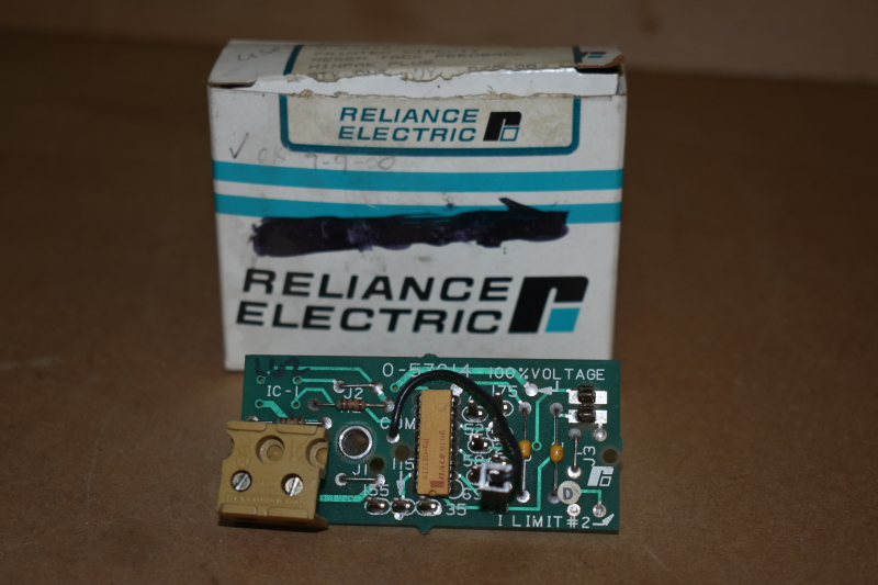 Regen tach feedback PCB, Minpak Plus, 0-57014, Reliance Electric