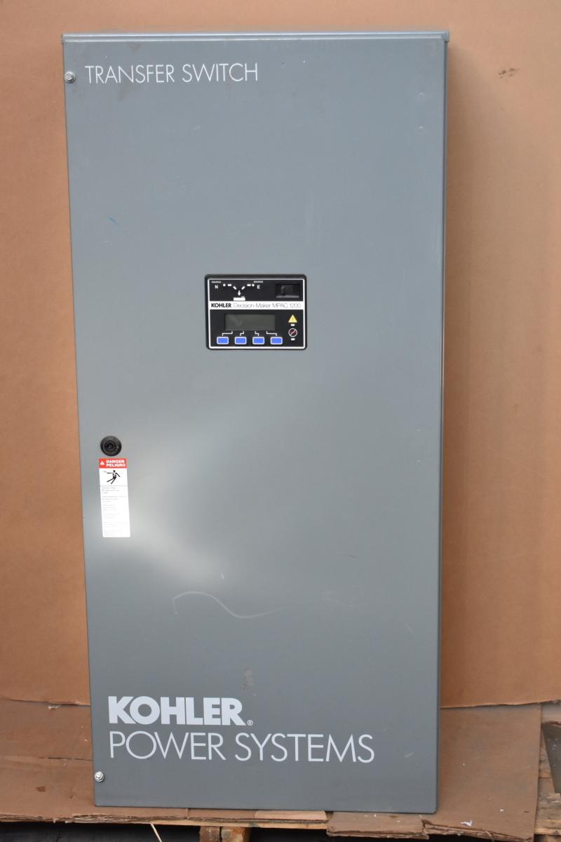 Transfer switch, Auto, 200A, 480V, 3W, 2P, 1PH, KSP-DMNA-0200S, Kohler