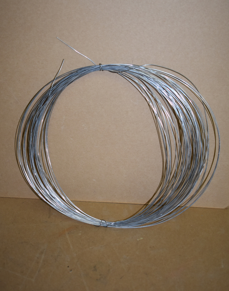 Niobium tin wire, 0.82mm dia, Superconductive, Nb3Sn, Lot of 50 ft