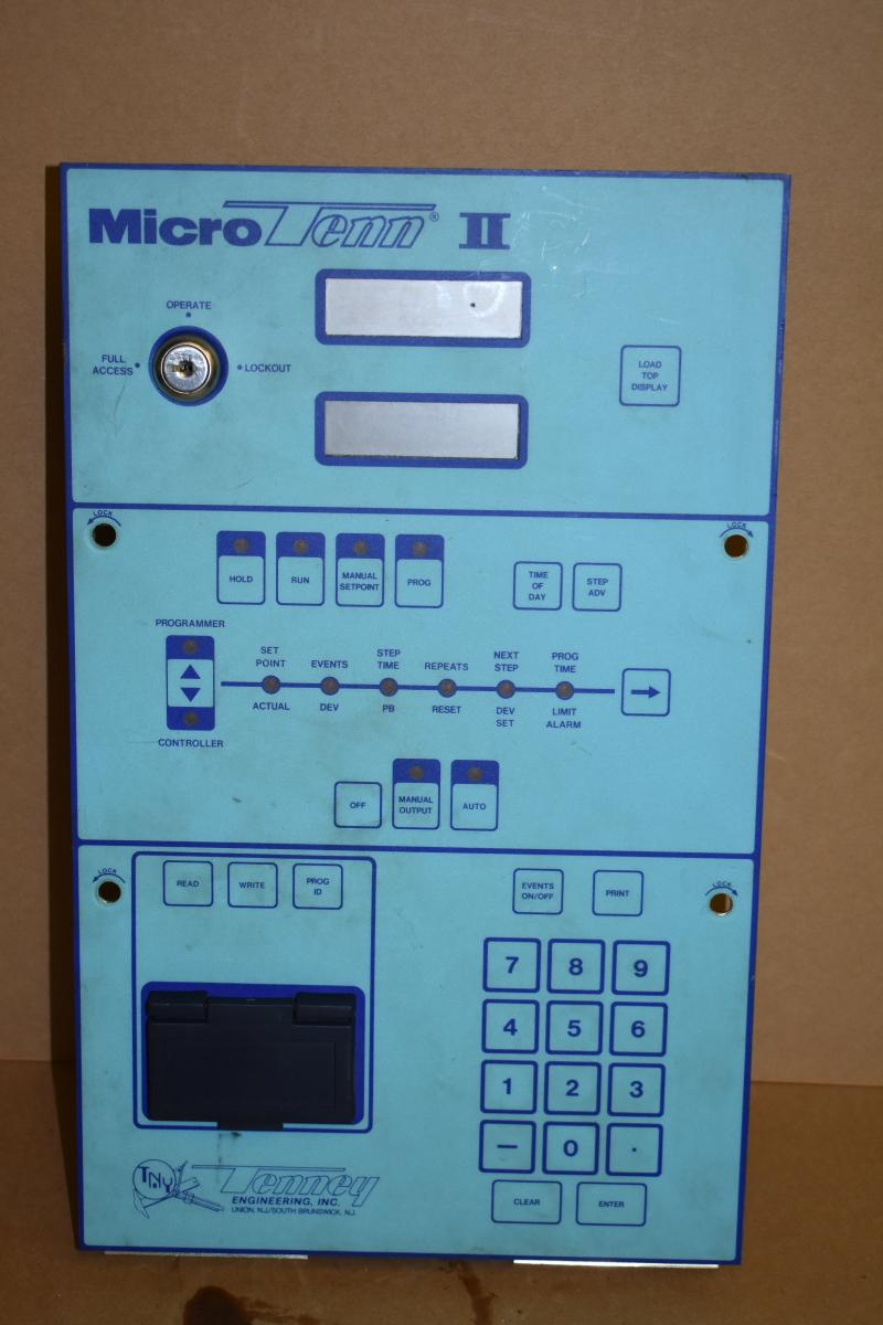 Controller, Environmental chamber,  Microtenn II, 8300400, Tenney, Research Inc