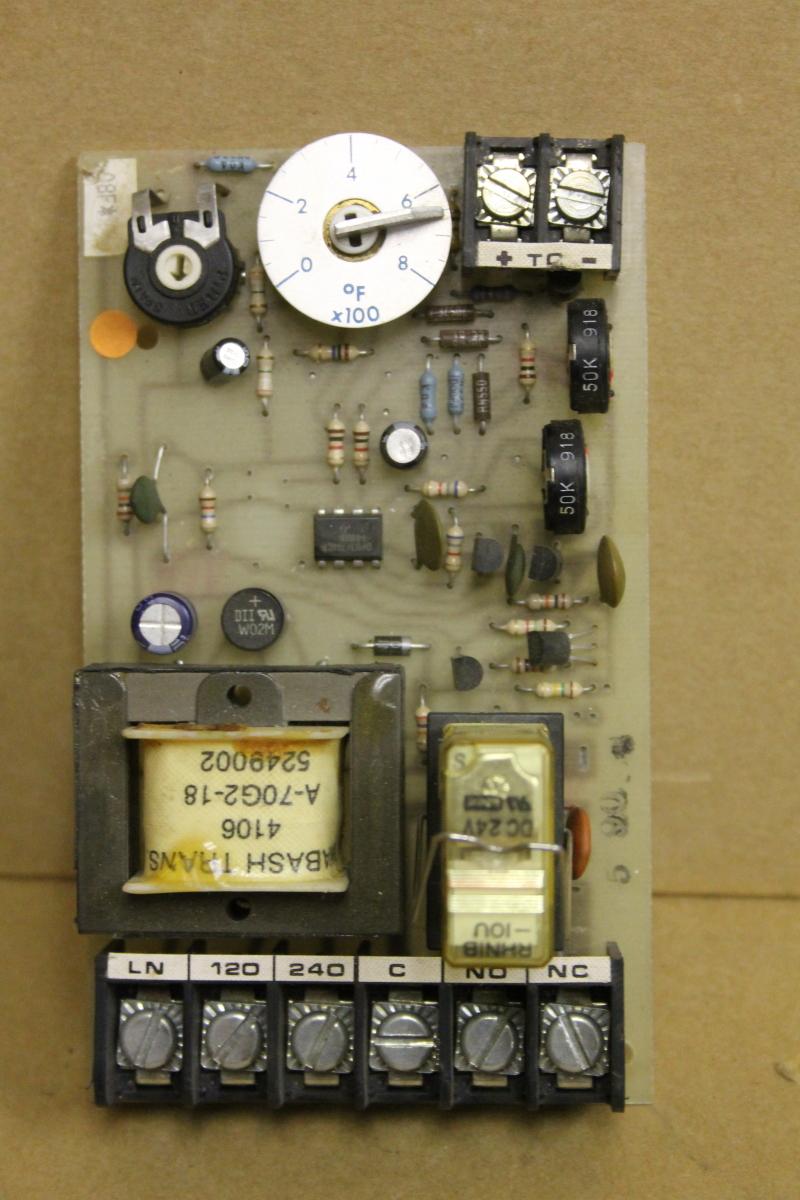 Temperature limit controller, 0-800 deg F, 8610, B-86M7-20B, Athena