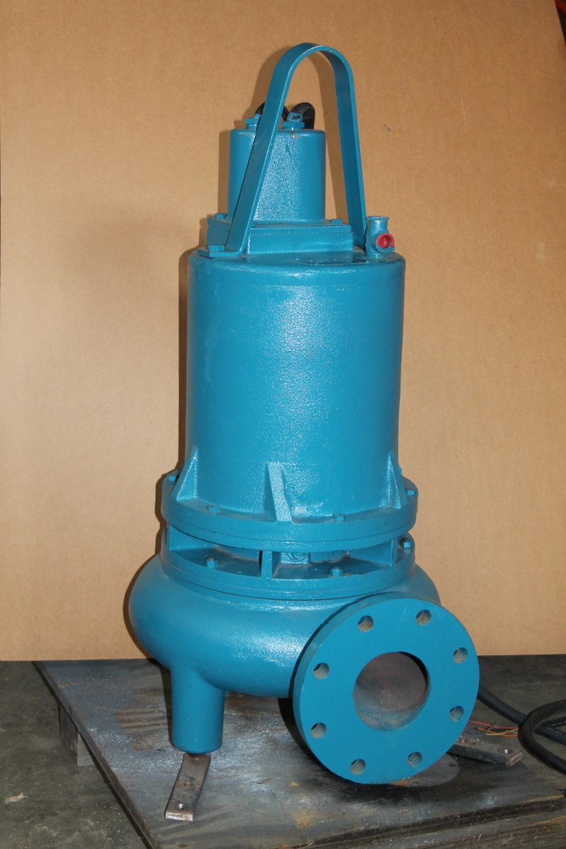 Submersible pump, solid handling, 4.5hp, 650gpm, 3ph, 4
