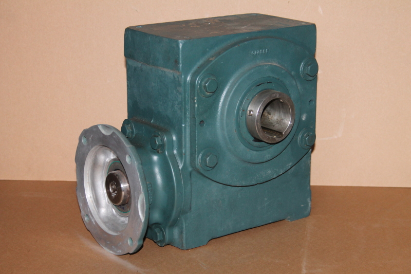 Speed reducer, dual hollow shaft, right angle, 60:1, 29rpm, 35QZ60H56 Tigear